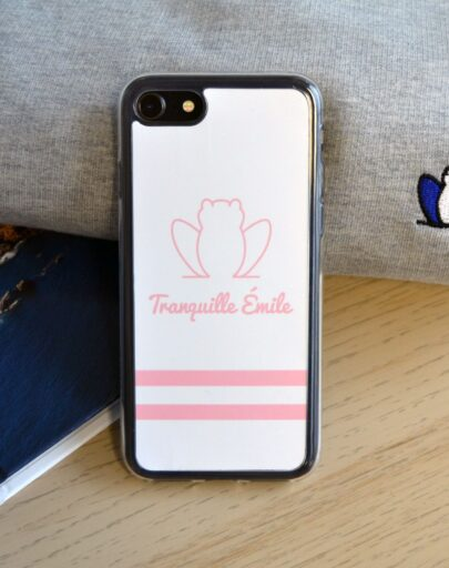 coque-iphone-made-in-france-tranquille-emile-rose