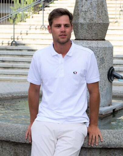 polo-homme-blanc-made-in-france