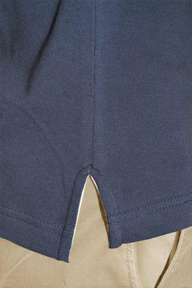 polo-homme-bleu-fentes