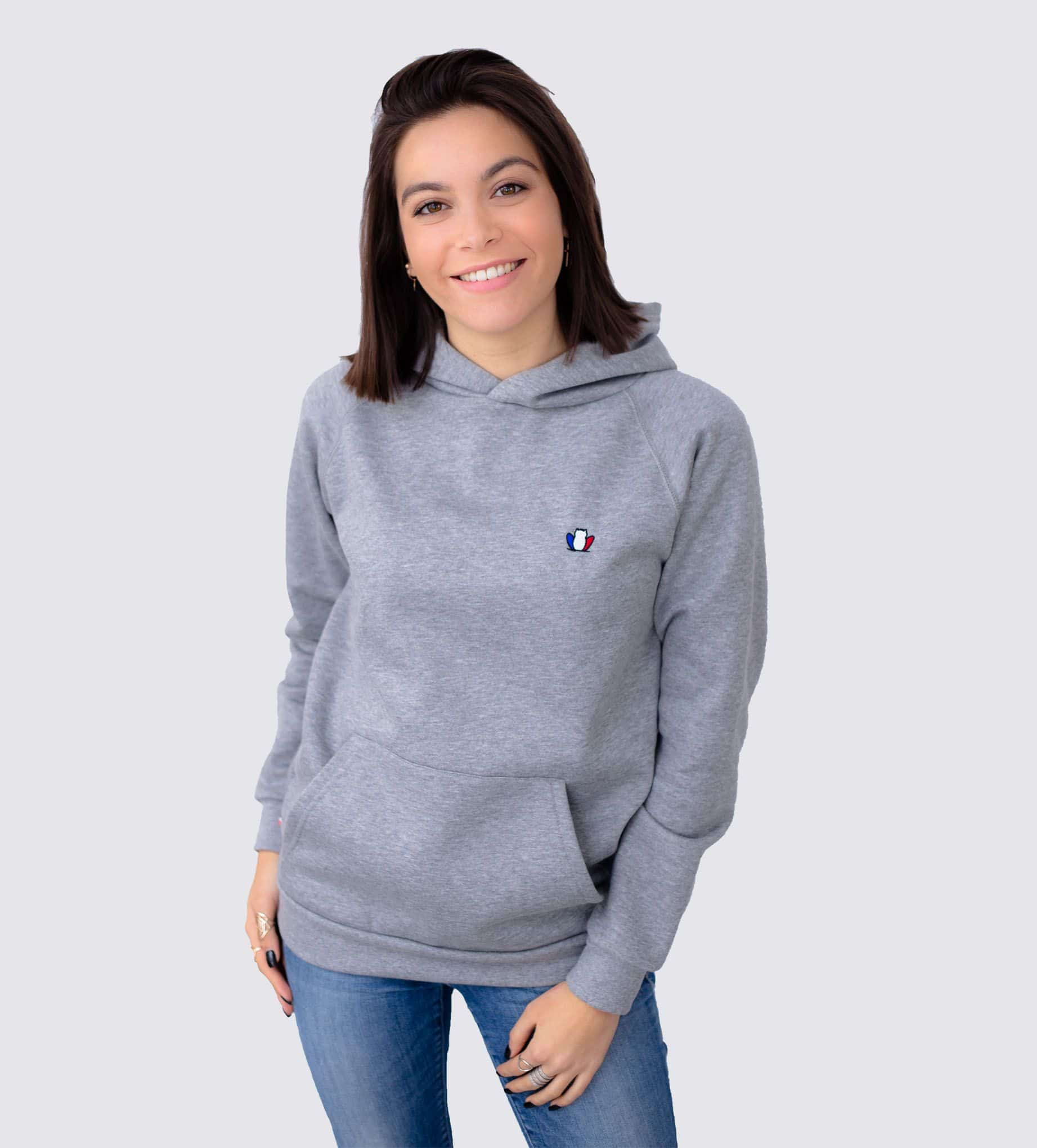 sweat-a-capuche-femme-gris-chine-made-in-france