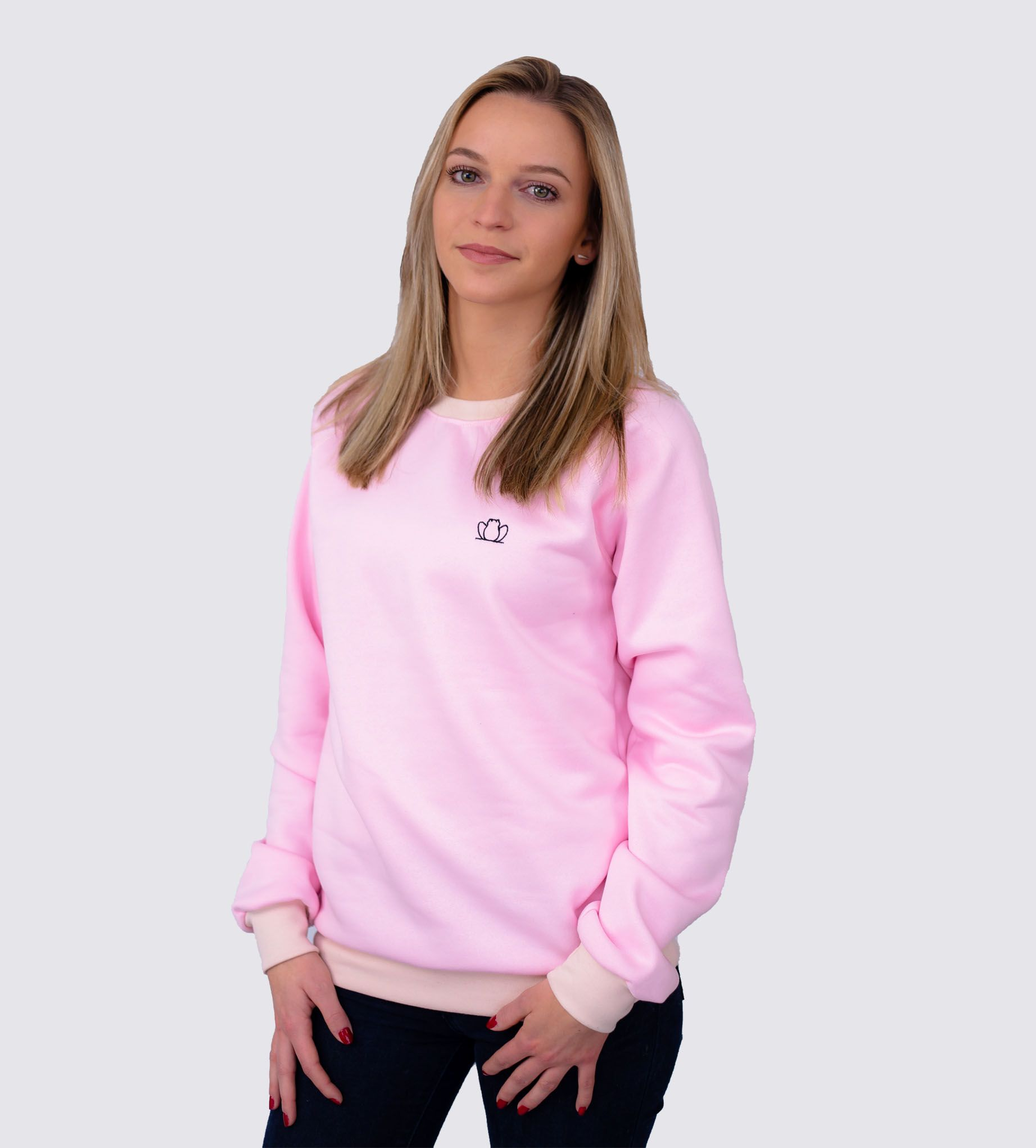 sweat-rose-femme-made-in-france