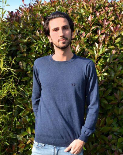 pull-coton-bio-homme-le-delicat-bleu