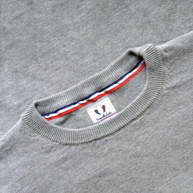 pull-coton-bio-homme-le-delicat-gris-col