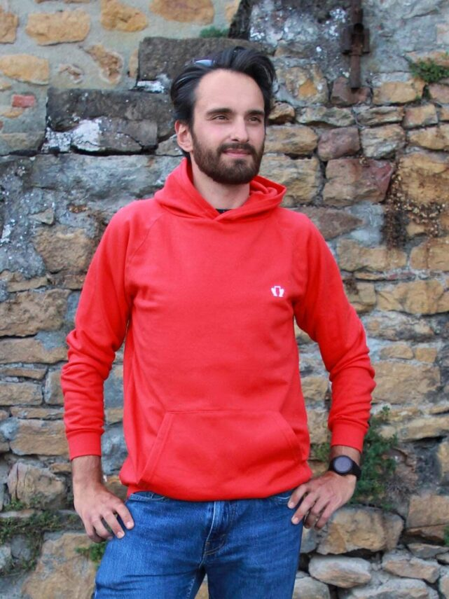 sweat-a-capuche-homme-made-in-france-le-confortable-rouge