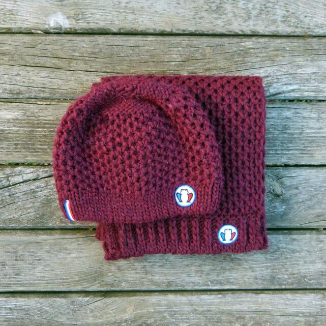 bonnet-echarpe-made-in-france-la-chaleureuse-rouge-bordeau-2