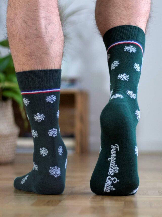 chaussettes-made-in-france-tranquille-emile-les-flocons-vertes-2