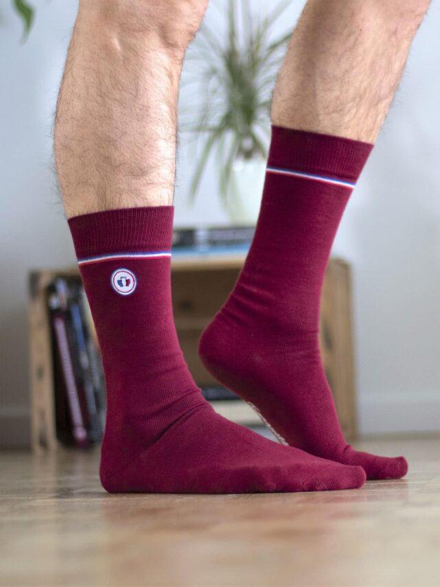 chaussettes-made-in-france-tranquille-emile-les-unies-rouge-bordeaux