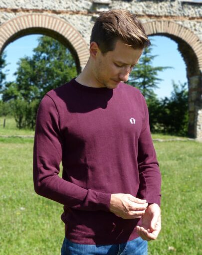 pull-made-in-france-coton-bio-le-delicat-homme-rouge-bordeaux-quentin-2