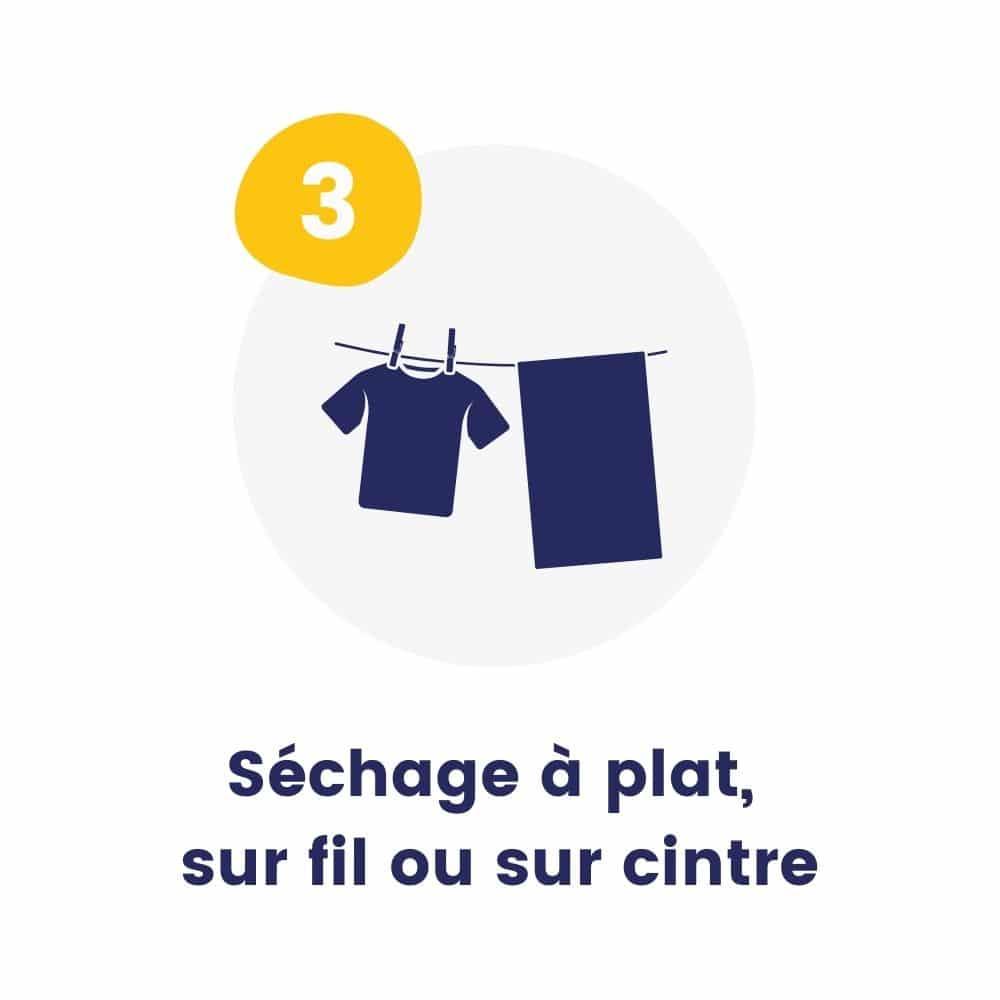 conseil-entretien-t-shirt-polo-sweat-sechage-plat-cintre